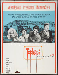 """Topkapi and Other Lot (United Artists, 1964). Partial Three Sheets (2) (41"""" X 50"""", and 41"""" X 54"""") Fl..."""