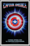 "Movie Posters:Action, Captain America (Columbia/Tristar, 1991). One Sheet (27"" X 41"")Advance. Action.. ..."