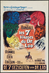 """The 7 Faces of Dr. Lao (MGM, 1964). Belgian Poster (14"""" X 21.5""""). Fantasy"""