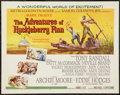 "Movie Posters:Adventure, The Adventures of Huckleberry Finn (MGM, 1960). Half Sheet (22"" X28""). Adventure.. ..."