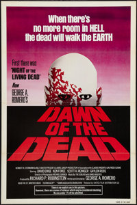 "Dawn of the Dead (United Film Distribution, 1978). One Sheet (27"" X 41"") Red Style. Horror"