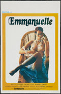 "Movie Posters:Adult, Emmanuelle (Belga, 1975). Belgian (14"" X 21""). Adult.. ..."