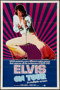 "Elvis on Tour (MGM, 1972). One Sheet (27"" X 41"") Flat Folded. Elvis Presley"