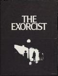 "Movie Posters:Horror, The Exorcist (Warner Brothers, 1974). Special Poster (19"" X 25"").Horror.. ..."