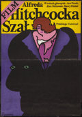 "Movie Posters:Hitchcock, Frenzy (Universal, 1977). Polish One Sheet (22.5"" X 32.5"").Hitchcock.. ..."