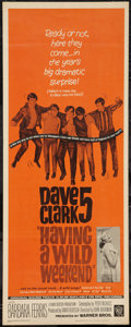 "Movie Posters:Rock and Roll, Having A Wild Weekend (Warner Brothers, 1965). Insert (14"" X 36"").Rock and Roll.. ..."