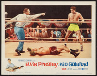 "Kid Galahad (United Artists, 1962). Lobby Card (11"" X 14""). Elvis Presley"