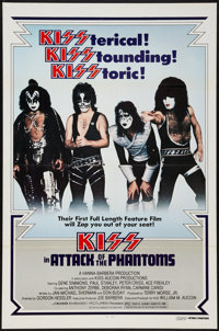 "KISS Meets the Phantom of the Park (Avco Embassy, 1979). One Sheet (27"" X 41""). Rock and Roll. Alternate Title..."