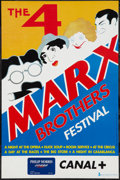 "Movie Posters:Comedy, Marx Brothers Film Festival (Alternative Films, 1990s). BelgianPoster (14"" X 21.5""). Comedy.. ..."