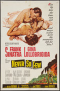 "Movie Posters:War, Never So Few (MGM, 1959). One Sheet (27"" X 41""). War.. ..."