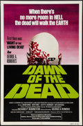 "Movie Posters:Horror, Dawn of the Dead (United Film Distribution, 1978). One Sheet (27"" X41"") Green Version. Horror.. ..."
