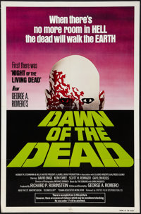 "Dawn of the Dead (United Film Distribution, 1978). One Sheet (27"" X 41"") Green Version. Horror"