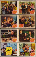 """Movie Posters:Comedy, Kid Dynamite (Astor Pictures, R-1949). Lobby Card Set of 8 (11"""" X 14""""). Comedy.. ... (Total: 8 Items)"""