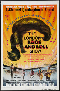 """London Rock and Roll Show (Ellman Enterprises, 1975). One Sheet (27"""" X 41""""). Rock and Roll"""