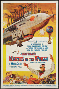 "Master of the World (American International, 1961). One Sheet (27"" X 41""). Science Fiction"