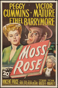 """Movie Posters:Mystery, Moss Rose (20th Century Fox, 1947). One Sheet (27"""" X 41"""").Mystery.. ..."""