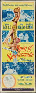 "Movie Posters:Musical, Song of Scheherazade (Universal International, 1946). Insert (14"" X 36""). Musical.. ..."