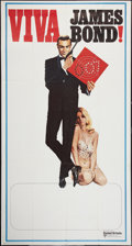 "Movie Posters:James Bond, Viva James Bond (United Artists, R-1970). International Three Sheet(41"" X 77""). James Bond.. ..."