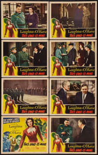"This Land is Mine (RKO, 1943). Lobby Card Set of 8 (11"" X 14""). War. ... (Total: 8 Items)"