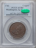 Colonials, 1783 1C Washington & Independence Cent, Large Military BustAU58+ PCGS. CAC. Baker-4, R.4....
