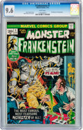Bronze Age (1970-1979):Horror, Frankenstein #1 (Marvel, 1973) CGC NM+ 9.6 White pages....