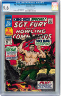 Silver Age (1956-1969):War, Sgt. Fury and His Howling Commandos Annual #3 (Marvel, 1967) CGC NM+ 9.6 Off-white to white pages....