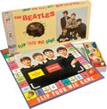"Music Memorabilia:Memorabilia, Beatles ""Flip Your Wig"" Board Game...."