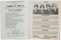 Music Memorabilia:Memorabilia, Beatles Summer of Stars '65 Program Booklet (Triangle Theatrical Productions, 1965)....