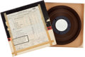 Music Memorabilia:Recordings, Beatles Revolver Sub Master Reel to Reel Tape (Capitol, 1966)....