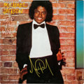 Music Memorabilia:Autographs and Signed Items, Michael Jackson Autographed Off The Wall LP (Epic 35745,1979)....