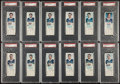 Hockey Cards:Lots, 1970 Dad's Cookies Hockey PSA-Graded High Grade Collection (12)....