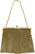 Estate Jewelry:Purses, Ruby, Diamond, Platinum, Gold Mesh Purse. ...