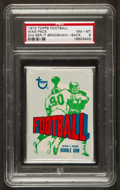 Football Cards:Singles (1970-Now), 1972 Topps Football 2nd Series Unopened Wax Pack PSA NM-MT 8 WithBradshaw on Back. ...