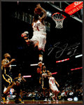 Basketball Collectibles:Photos, Derrick Rose Signed Oversized Photograph....