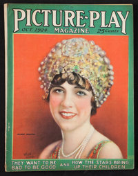 """Picture-Play (Street and Smith, Oct. 1924). Magazine (Multiple Pages, 8.5"""" X 11""""). Miscellaneous"""