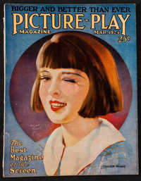 """Picture Play (Street and Smith, March 1924). Magazine (124 Pages, 8.5"""" X 11""""). Miscellaneous"""