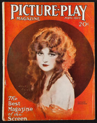 """Picture-Play (Street and Smith, Nov. 1923). Magazine (Multiple Pages, 8.5"""" X 11""""). Miscellaneous"""