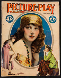 """Picture Play (Street and Smith, December 1921). Magazine (116 Pages, 8.5"""" X 11""""). Miscellaneous"""