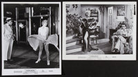 """Marilyn Monroe in The Seven Year Itch (20th Century Fox, 1955). Photos (2) (8"""" X 10""""). Comedy. ... (Total: 2 I..."""