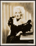 "Movie Posters:Drama, Marlene Dietrich in The Song of Songs (Paramount, 1933). PortraitPhoto (8"" X 10""). Drama.. ..."