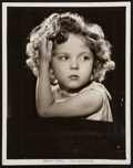"""Movie Posters:Miscellaneous, Shirley Temple by Otto Dyar (Fox, 1934). Portrait Photo (8"""" X 10"""").Miscellaneous.. ..."""