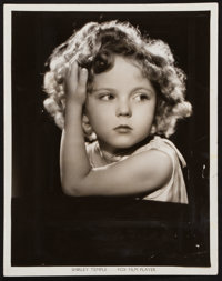 "Shirley Temple by Otto Dyar (Fox, 1934). Portrait Photo (8"" X 10""). Miscellaneous"