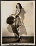 "Movie Posters:Comedy, Joan Blondell in Good Girls Go to Paris (Columbia, 1939). PinupPhoto (8"" X 10""). Comedy.. ..."