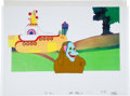 Music Memorabilia:Original Art, Beatles Yellow Submarine Jeremy the Boob Animation CelOriginal Art (United Artists/King Features, 1968).. ... (Total: 3Items)