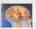 Music Memorabilia:Original Art, Beatles Yellow Submarine Animation Original Art Group(United Artists/King Features, 1968).. ... (Total: 5 Items)