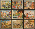 "Non-Sport Cards:Lots, 1938 Gum Inc. ""Horrors of War"" Collection (32 Diff.). ..."