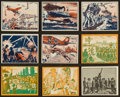 "Non-Sport Cards:Lots, 1939 R165 Gum Inc. ""War News Pictures"" Collection (18 Different)...."