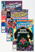 Modern Age (1980-Present):Superhero, The Amazing Spider-Man/X-Men Group (Marvel, 1981-88) Condition:Average NM.... (Total: 18 Comic Books)