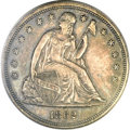Seated Dollars, 1862 $1 AU53 PCGS....