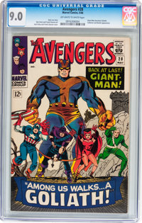 The Avengers #28 (Marvel, 1966) CGC VF/NM 9.0 Off-white to white pages